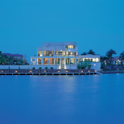Overall view of this house - Overall view blue, reflection, resort, sea, sky, water, teal