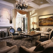 view of the lounge - view of the ceiling, home, interior design, living room, real estate, room, black, gray