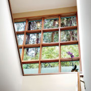 View of the window joinery by Loewen Inc ceiling, daylighting, glass, home, house, interior design, room, window, wood, white