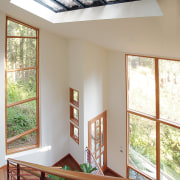 View of the windows by Loewen Inc - architecture, ceiling, daylighting, estate, home, house, interior design, real estate, window, wood, gray