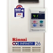 view of the Rinnai System - view of electronics accessory, hardware, product, product design, technology, white