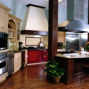 View of this kitchen - View of this countertop, cuisine classique, home appliance, interior design, kitchen, black