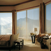 View of this bedroom - View of this bedroom, ceiling, curtain, decor, home, interior design, living room, real estate, room, shade, textile, window, window blind, window covering, window treatment, wood, brown