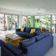 interior view of a lounge in the apartments estate, house, interior design, living room, property, real estate, room, window, gray