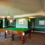 interior view of pool room - interior view billiard room, billiard table, blackball pool, cue sports, english billiards, estate, games, indoor games and sports, interior design, pocket billiards, pool, real estate, recreation room, room, snooker, table, brown