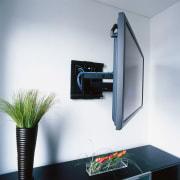 View of the Phillips touch screen remote control furniture, product, product design, white
