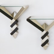 Wall objects - Wall objects - clothes hanger clothes hanger, product design, wood, white