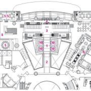 Floor plan diagram for restaurant. - Floor plan architecture, area, artwork, design, diagram, drawing, floor plan, line, line art, plan, product design, residential area, structure, technical drawing, urban design, white