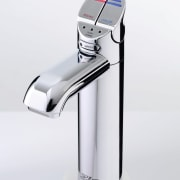 view of the stainless tap - view of hardware, plumbing fixture, product, product design, tap, white