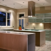 view of  the  ceaser stone benchtops cabinetry, countertop, cuisine classique, interior design, kitchen, real estate, room, brown, gray