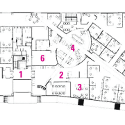 Legend plan of the office. - Legend plan area, design, diagram, drawing, floor plan, line, plan, product design, white
