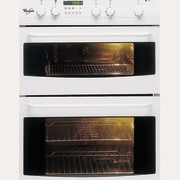 White Whirlpool oven - White Whirlpool oven - gas stove, home appliance, kitchen appliance, kitchen stove, oven, product, white
