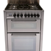 view  of the delonghi cooktop oven - gas stove, home appliance, kitchen appliance, kitchen stove, major appliance, oven, product, white, gray