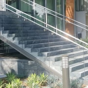 001 Incontinentalhotel - architecture | building | glass architecture, building, glass, handrail, metal, stairs, steel, walkway, gray