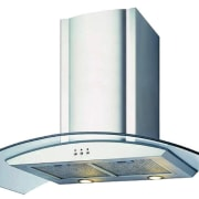 view of the rangehood - view of the product, product design, white