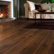 Close up view of the wooden flooring in floor, flooring, hardwood, home, interior design, laminate flooring, living room, wood, wood flooring, wood stain, brown