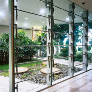 view of the xt operable glass louvres - glass, iron, window, gray