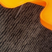 view of the carpets by onterra - view floor, flooring, line, material, orange, wood, yellow, black, orange