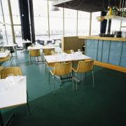 view of the walk easy comcork flooring - chair, flooring, furniture, table, black, white