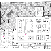view of the floor map - view of architecture, area, black and white, design, diagram, drawing, floor plan, font, line, line art, plan, product design, residential area, technical drawing, urban design, white