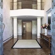 view of the efesus travertine solid stone for floor, flooring, hardwood, home, interior design, laminate flooring, lobby, tile, wood flooring, gray, white