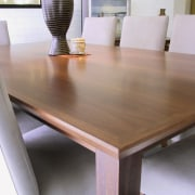 view of this hardwood furniture designed by mabarrack floor, flooring, furniture, hardwood, plywood, product design, table, wood, wood stain, gray