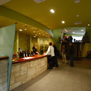 view of the hollick winery bar/tasteing area - interior design, lobby, restaurant, brown