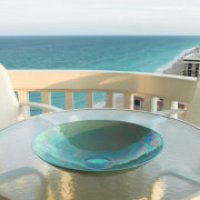 the deck looks out over the ocean - sea, swimming pool, water, yacht, white