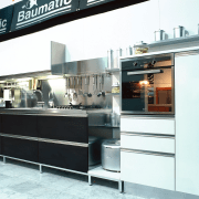 An example of Baumatic Appliances accessories and features. kitchen, white