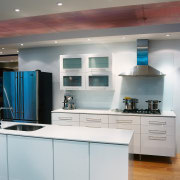 An example of the kitchen displays within Harvey cabinetry, ceiling, countertop, cuisine classique, home appliance, interior design, kitchen, room, gray