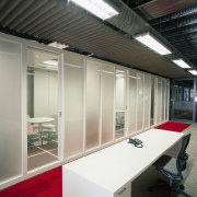 A view of the reception area, carpet, lights, architecture, daylighting, glass, office, gray, black