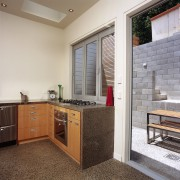 An example of the way The Concrete Doctors cabinetry, countertop, floor, interior design, kitchen, real estate, room, gray