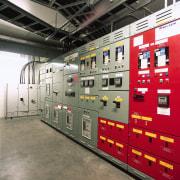 MCG switchboard room. - MCG switchboard room. - machine