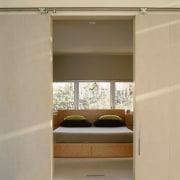 A view of the master suite. - A furniture, interior design, wardrobe, orange, brown