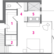 A view of the legend plan. - A architecture, area, design, diagram, drawing, floor plan, line, plan, product, product design, structure, white