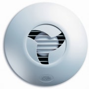 A view of some ventialtions fans. - A product, product design, technology, gray, white