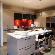 A view of some kitchen cabinetry by TM cabinetry, countertop, cuisine classique, interior design, kitchen, real estate, room, gray