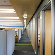 A view of the lighting system in the architecture, ceiling, daylighting, interior design, public transport, gray, brown