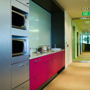 view of bright kitchen cabinetry manufactured by lifestyle architecture, interior design, kitchen, real estate