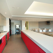 view of the colourful kitchen within the breeakout ceiling, countertop, interior design, kitchen, real estate, white