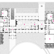 A view of the plan of the home. architecture, area, design, drawing, floor plan, line, plan, product design, white