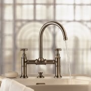 A view of some faucetry from Hansgrohe. - plumbing fixture, product, product design, sink, tap, white