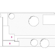 A view of a plan for the home. angle, architecture, area, design, diagram, drawing, floor plan, font, line, plan, product, product design, structure, white