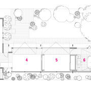 A view of a plan for the home. angle, architecture, area, artwork, design, diagram, drawing, floor plan, font, line, line art, pattern, plan, product, product design, square, structure, technical drawing, text, white