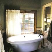 A view of a bathroom renovation by Buckland bathroom, bathtub, home, interior design, plumbing fixture, room, window, black