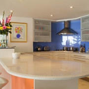A view of a kitchen by HIA Kitchens countertop, home, interior design, kitchen, property, real estate, room, orange