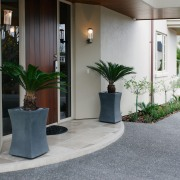 A view of some planters by Bentleigh By floor, flooring, interior design, gray