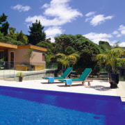 View of the pool and Outdoor entertaining area estate, home, house, leisure, property, real estate, resort, swimming pool, villa, blue