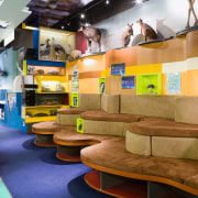 A view of the new Stevensons learning centre furniture, interior design, brown