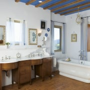A view of Eighteenth Century Italian Architecture was bathroom, estate, home, interior design, property, real estate, room, window, gray, brown